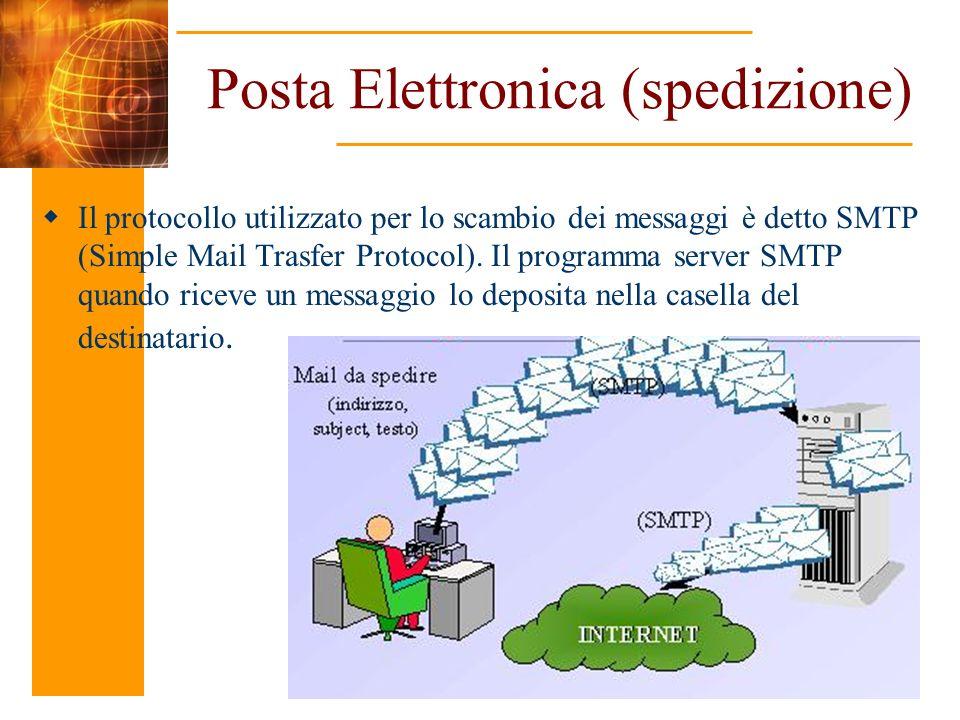 Posta Elettronica (spedizione)