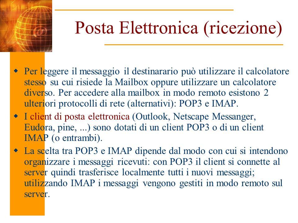 Posta Elettronica (ricezione)