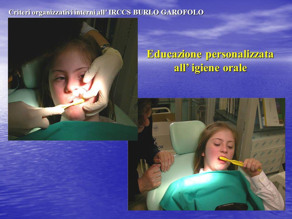 Educazione personalizzata all' igiene orale