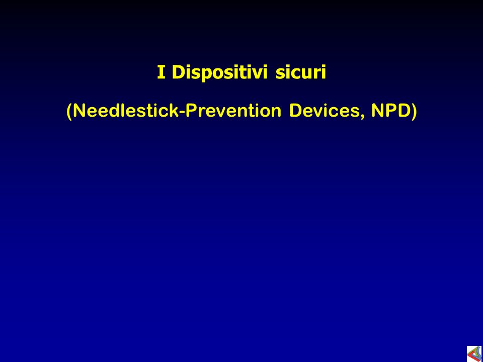 (Needlestick-Prevention Devices, NPD)