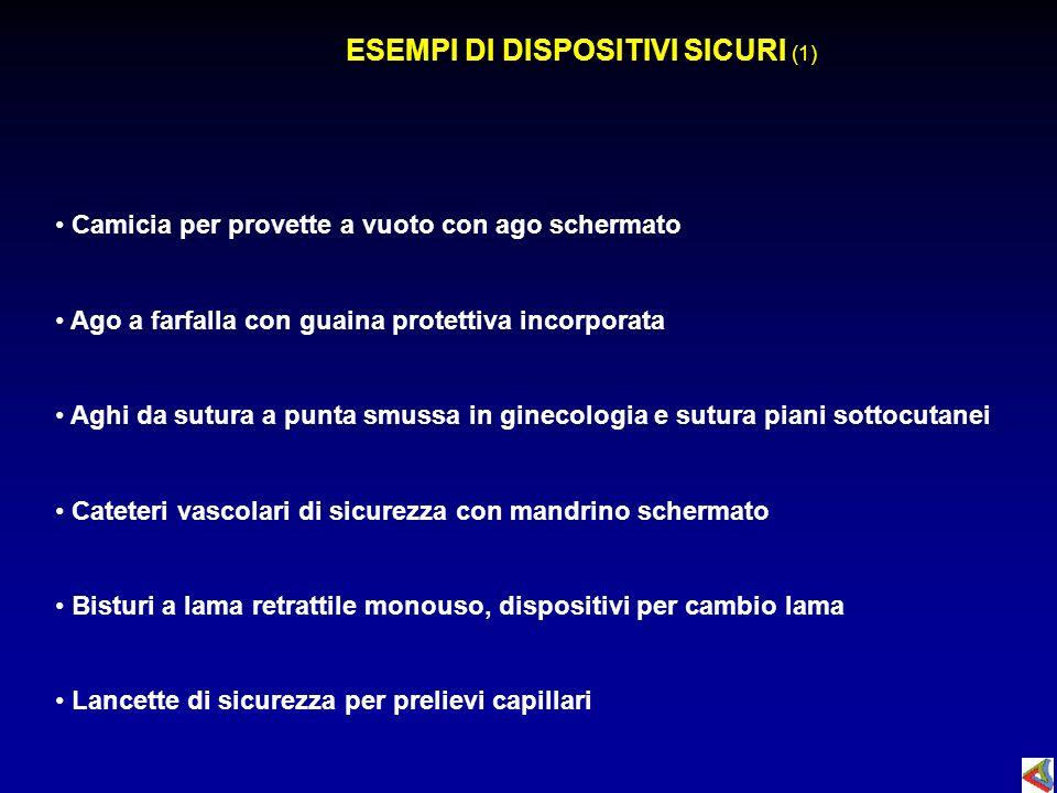 ESEMPI DI DISPOSITIVI SICURI (1)