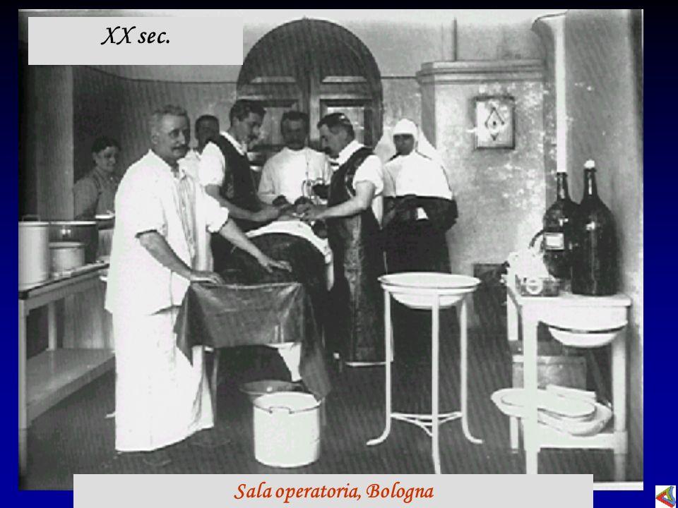 Sala operatoria, Bologna