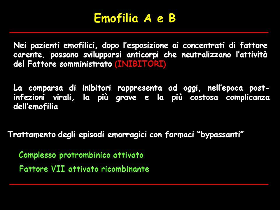 Emofilia A e B