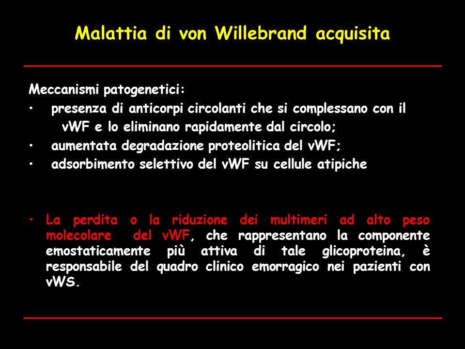 Malattia di von Willebrand acquisita