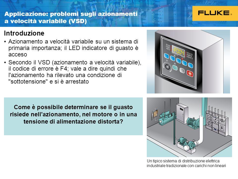 Applicazione: problemi sugli azionamenti a velocità variabile (VSD)