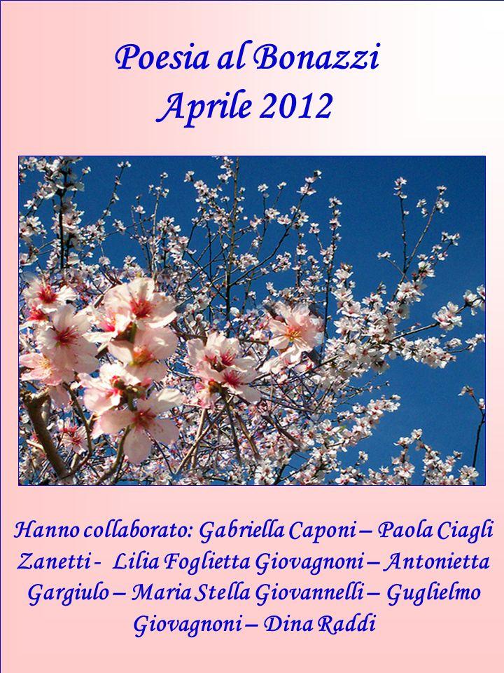 Poesia al Bonazzi Aprile 2012