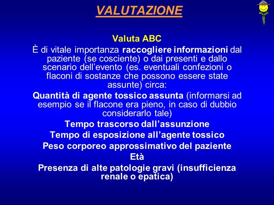 VALUTAZIONE Valuta ABC