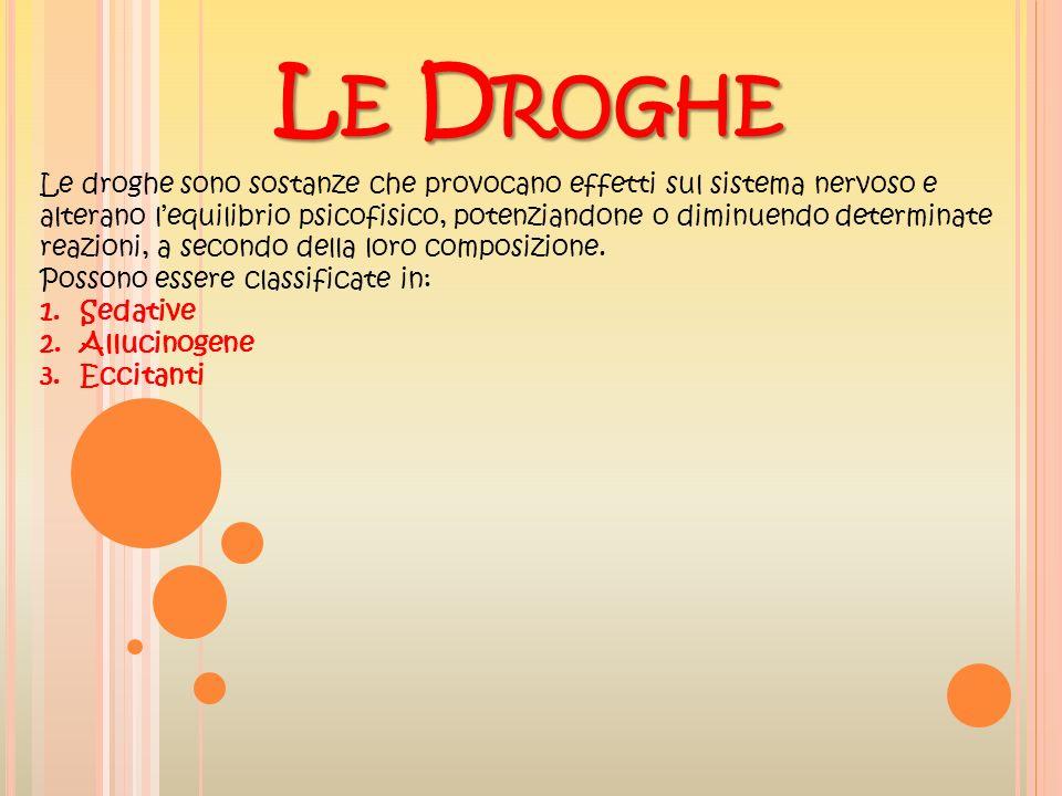 Le Droghe