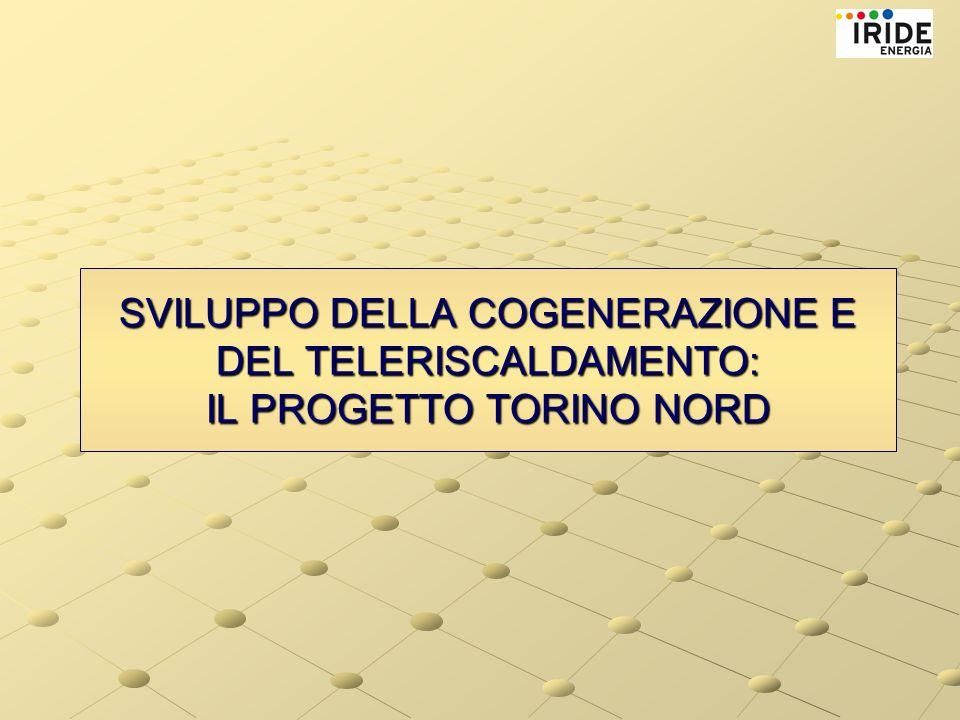 SVILUPPO DELLA COGENERAZIONE E DEL TELERISCALDAMENTO: IL PROGETTO TORINO NORD