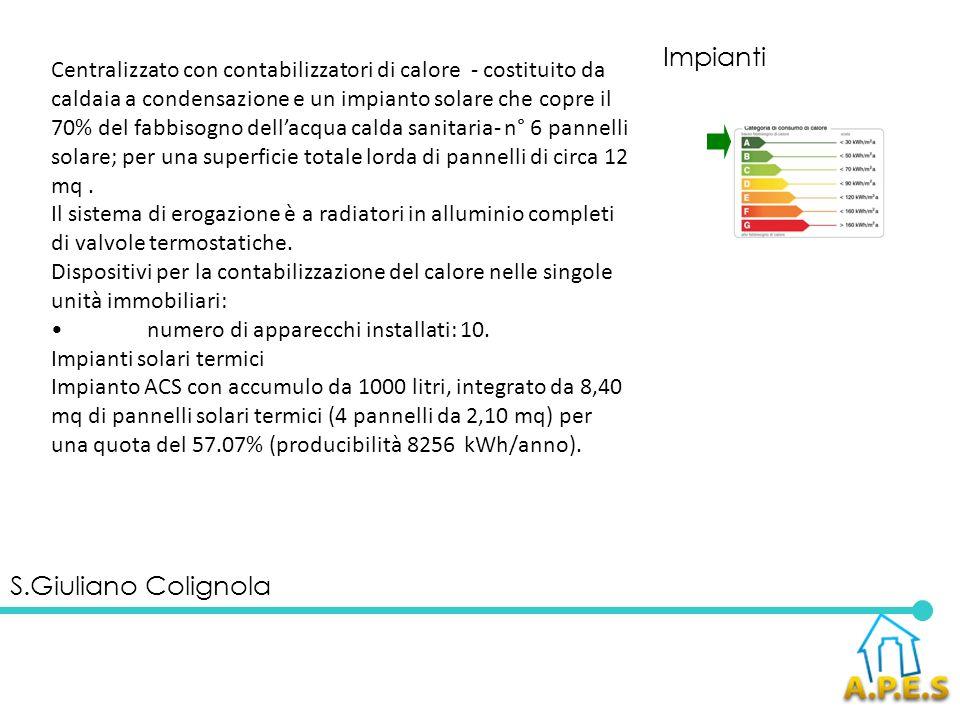 Impianti S.Giuliano Colignola