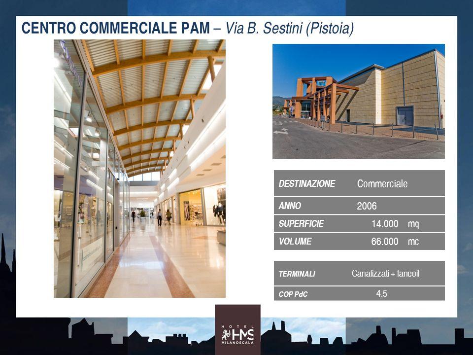 CENTRO COMMERCIALE PAM – Via B. Sestini (Pistoia)