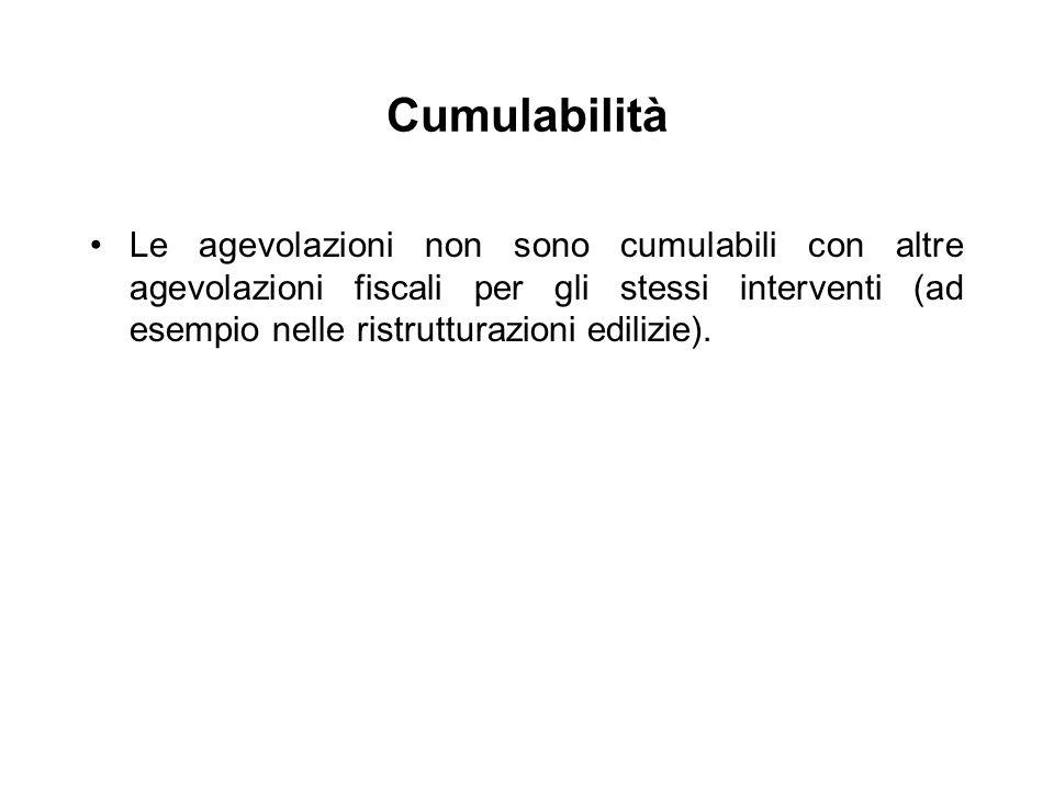 Cumulabilità