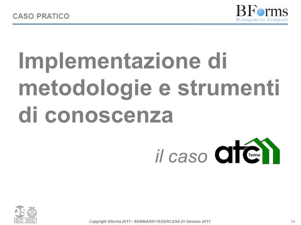 Implementazione di metodologie e strumenti di conoscenza