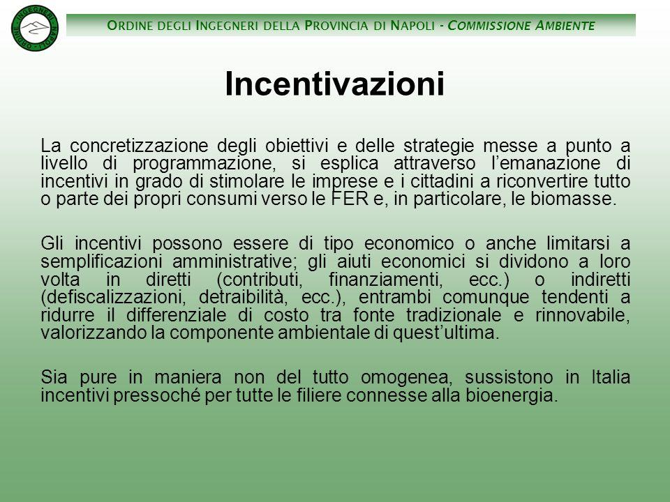 Incentivazioni