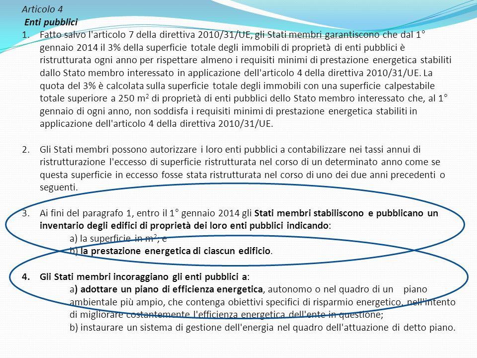 Articolo 4 Enti pubblici