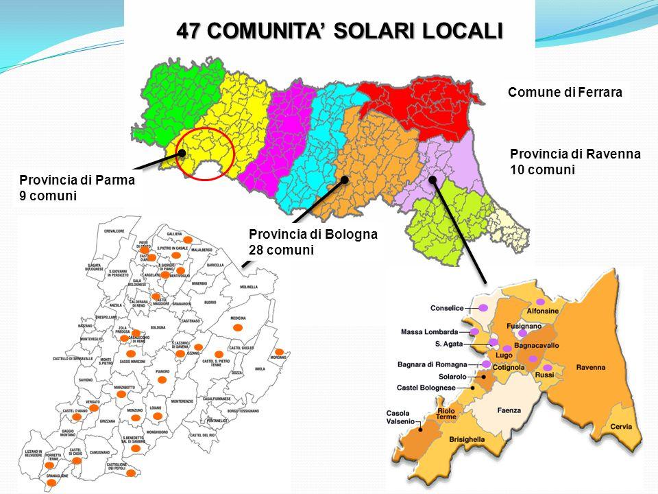 47 COMUNITA' SOLARI LOCALI