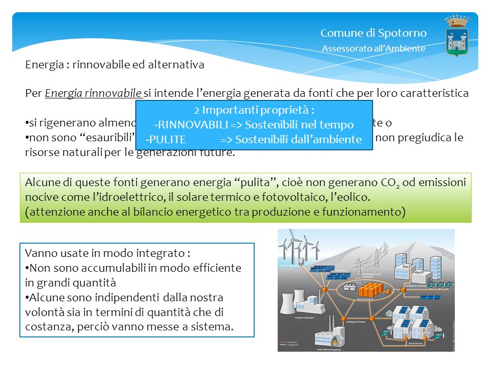 Energia : rinnovabile ed alternativa