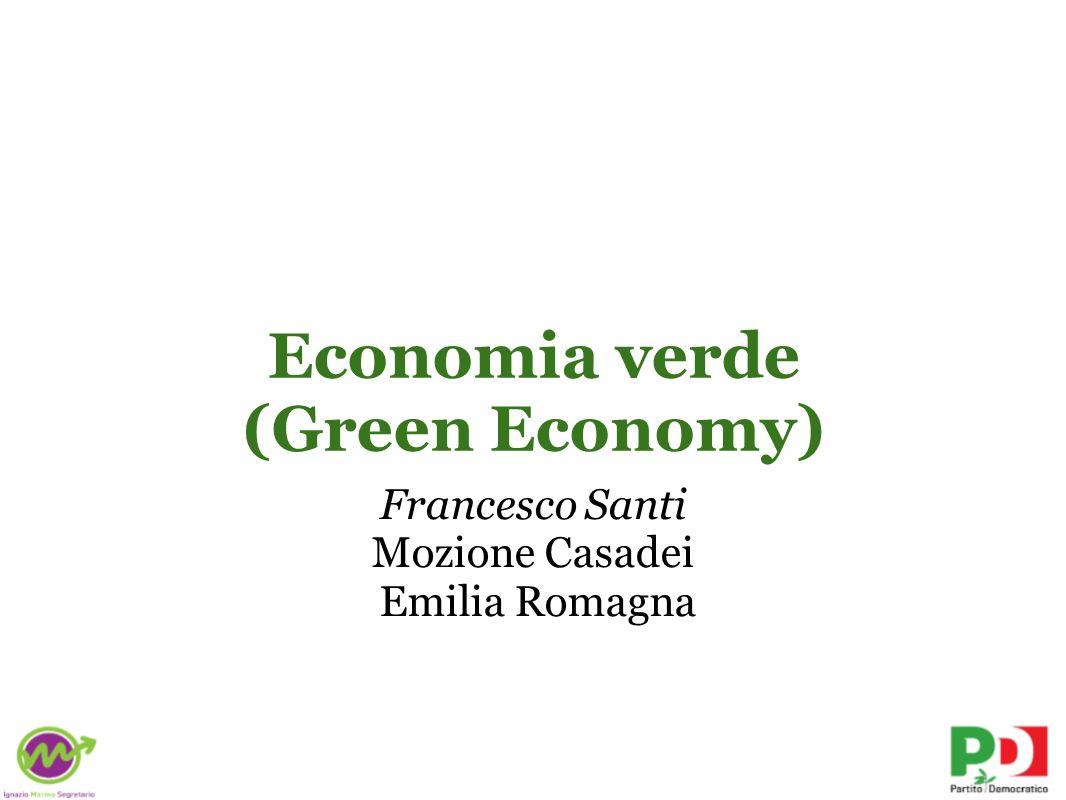 Economia verde (Green Economy)