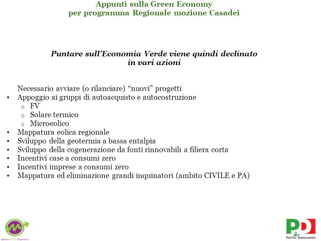 per programma Regionale mozione Casadei