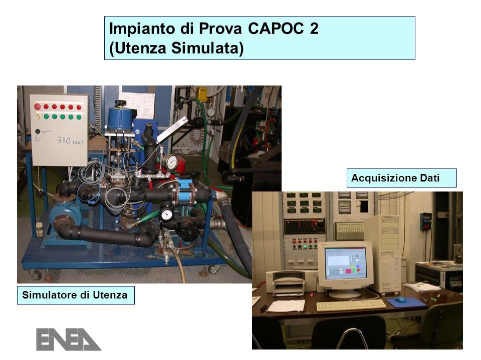 Impianto di Prova CAPOC 2 (Utenza Simulata)