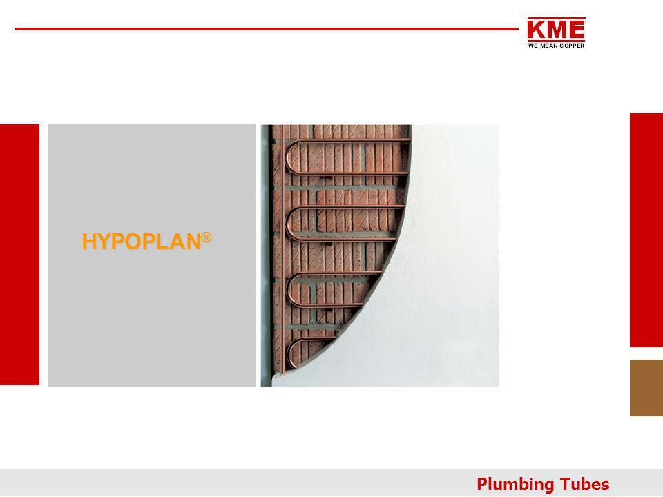 HYPOPLAN® Plumbing Tubes