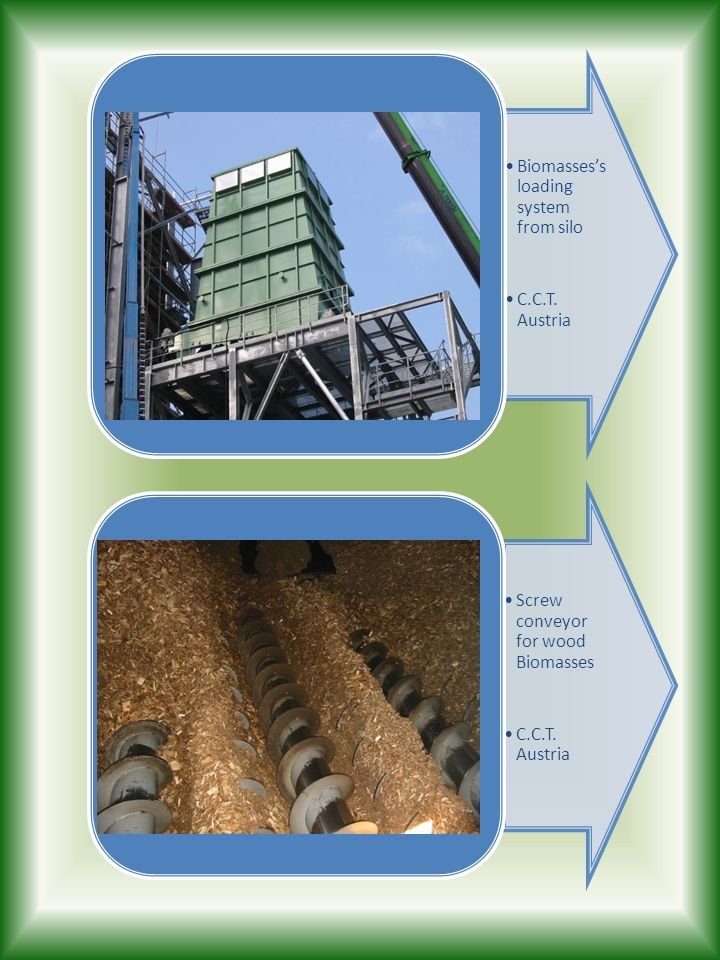 Biomasses's loading system from silo