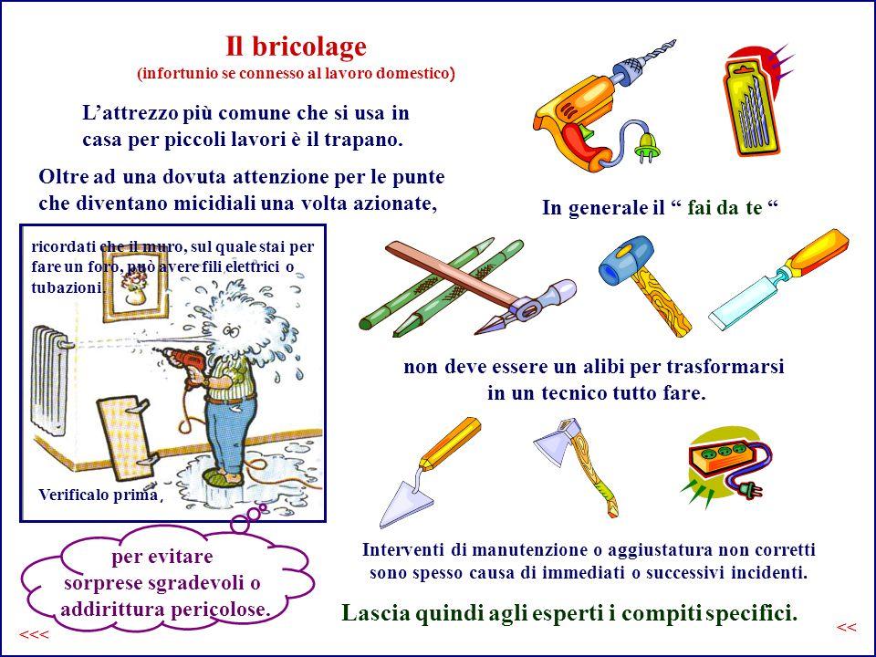 Il bricolage (infortunio se connesso al lavoro domestico)