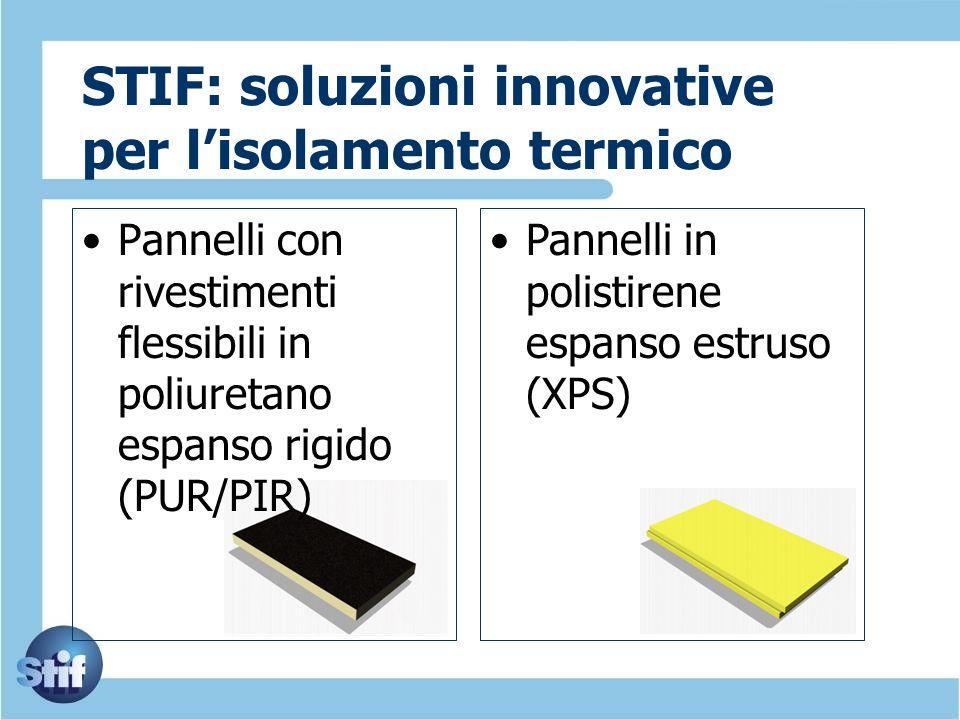 STIF: soluzioni innovative per l'isolamento termico