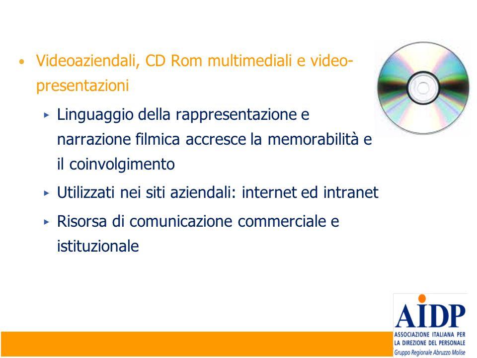 Videoaziendali, CD Rom multimediali e video-presentazioni