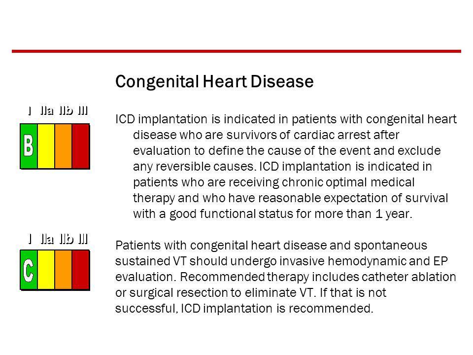 B Congenital Heart Disease
