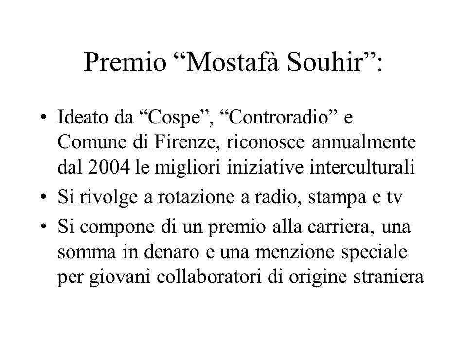 Premio Mostafà Souhir :