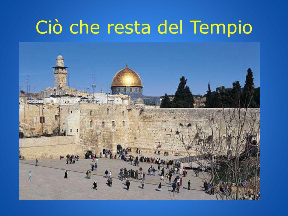 Ciò che resta del Tempio