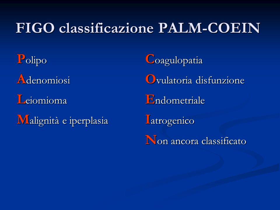 FIGO classificazione PALM-COEIN