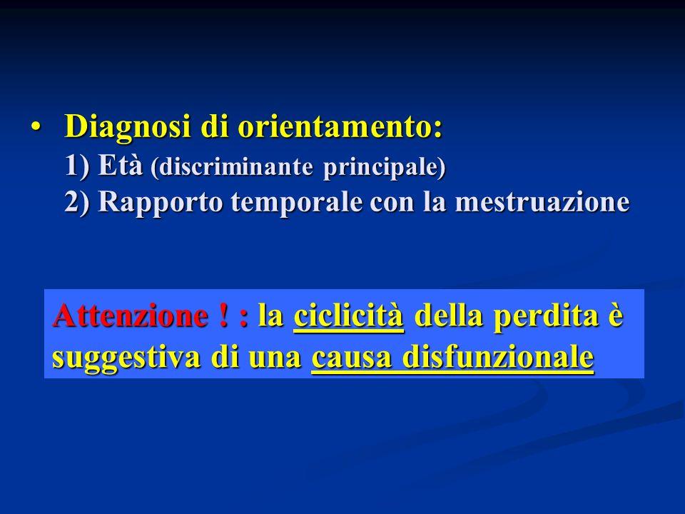 Diagnosi di orientamento: