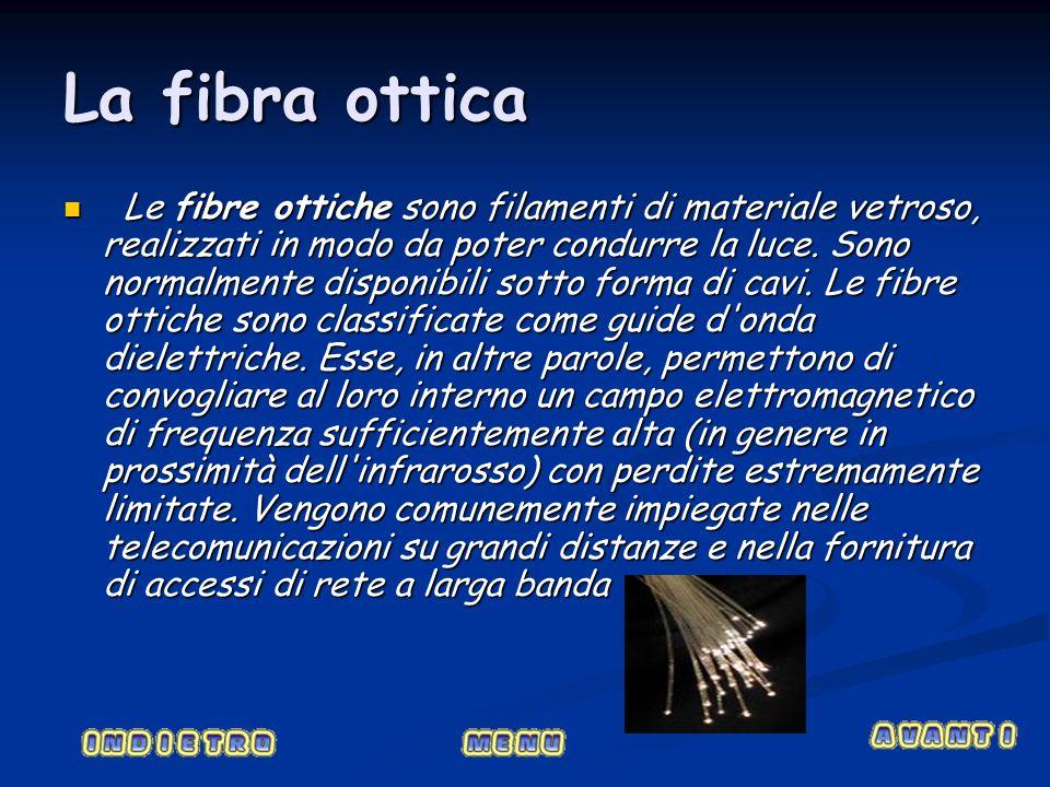 La fibra ottica
