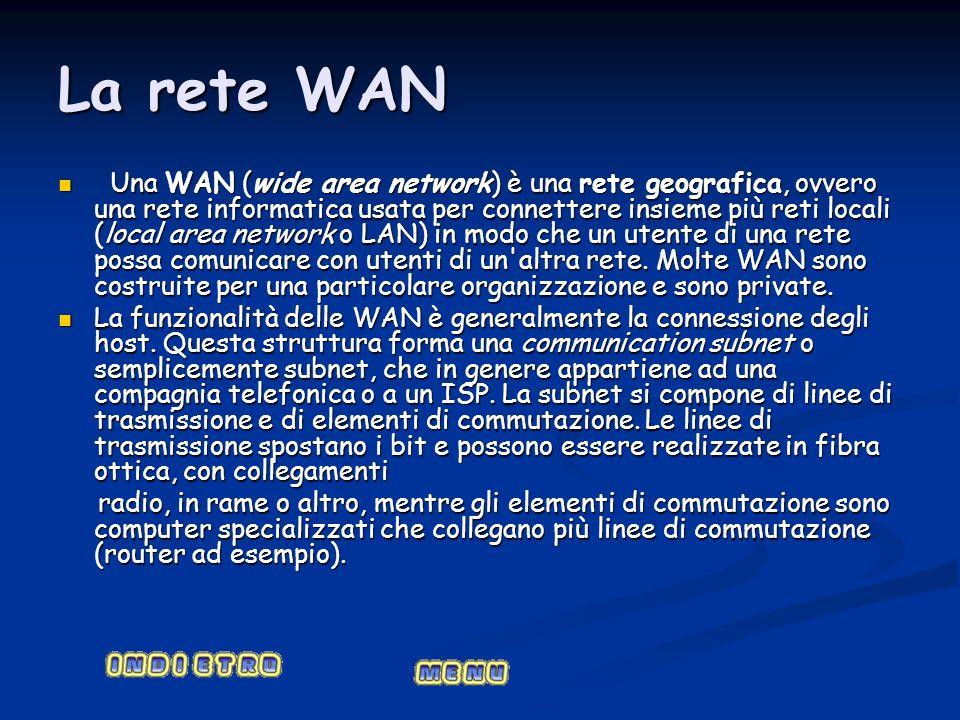 La rete WAN