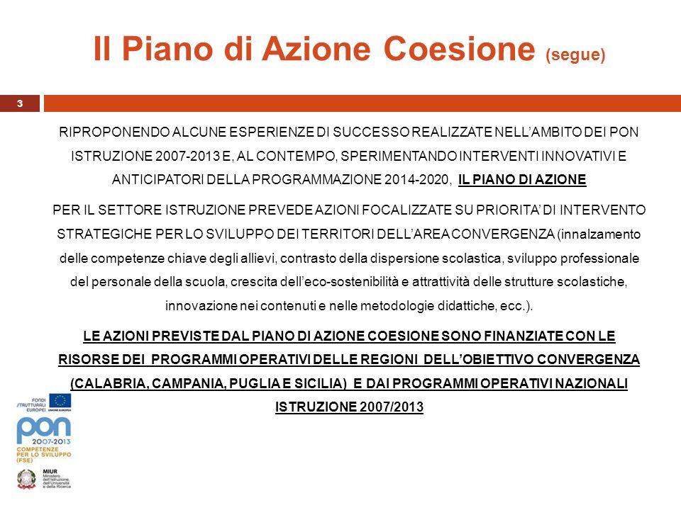 Il Piano di Azione Coesione (segue)