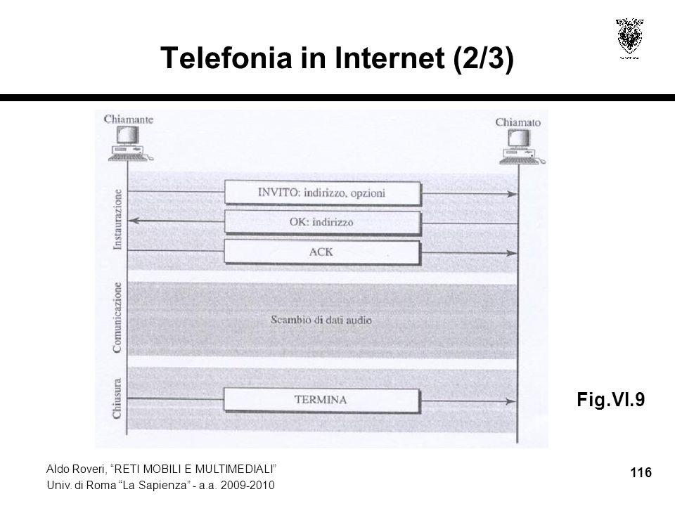 Telefonia in Internet (2/3)