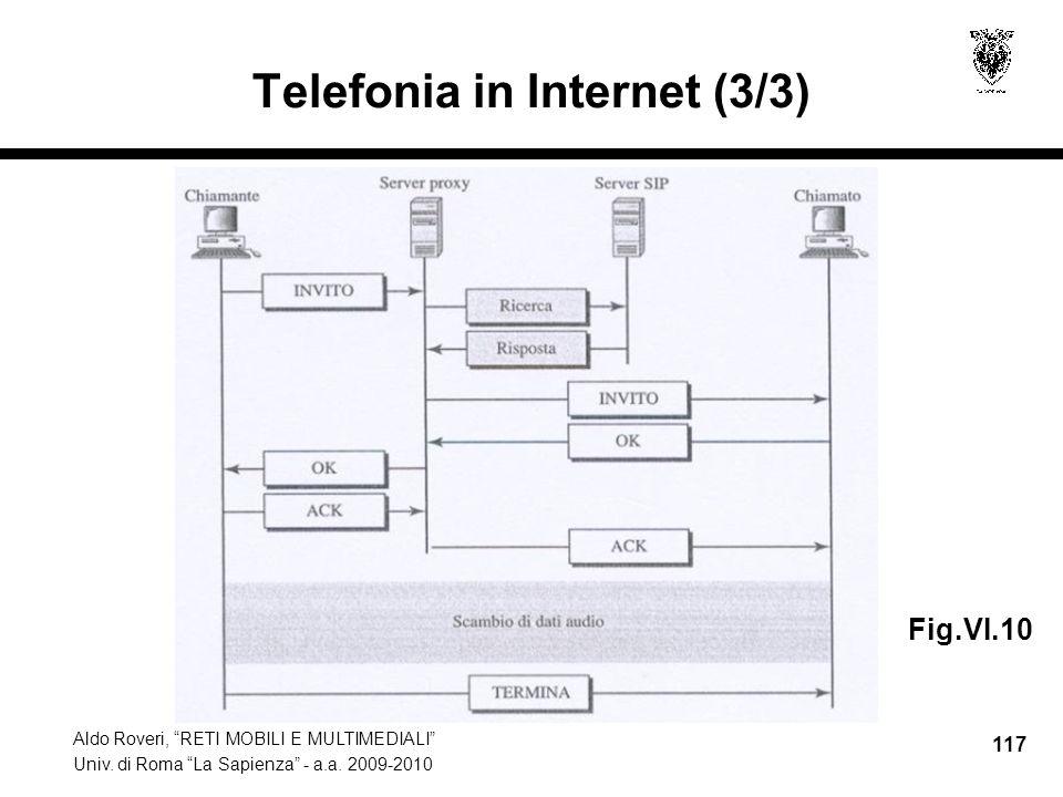 Telefonia in Internet (3/3)