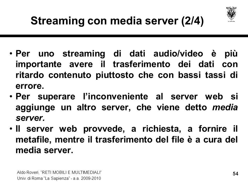 Streaming con media server (2/4)