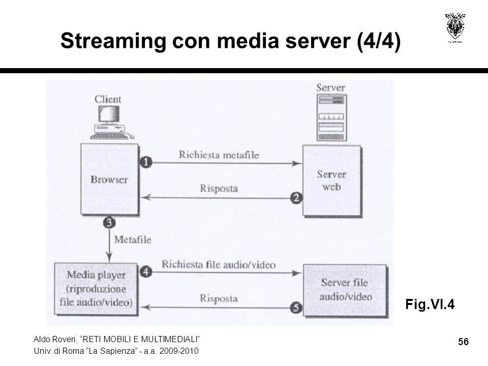 Streaming con media server (4/4)