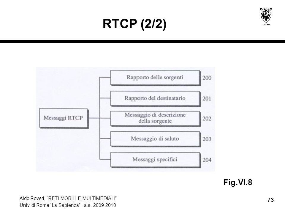 RTCP (2/2) Fig.VI.8