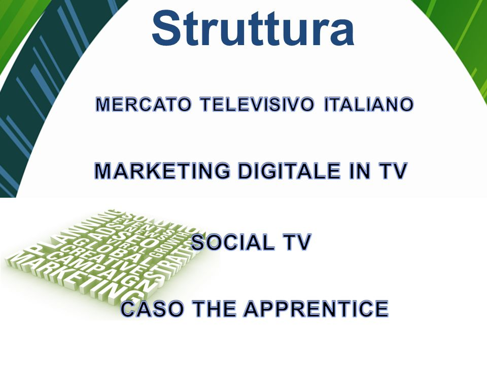 MARKETING DIGITALE IN TV