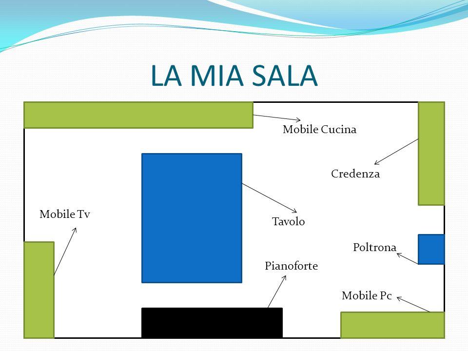 LA MIA SALA Mobile Cucina Credenza Mobile Tv Tavolo Poltrona