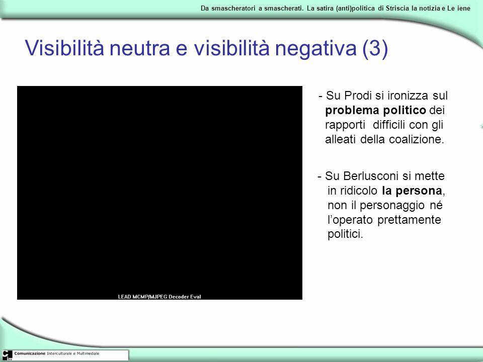 Visibilità neutra e visibilità negativa (3)