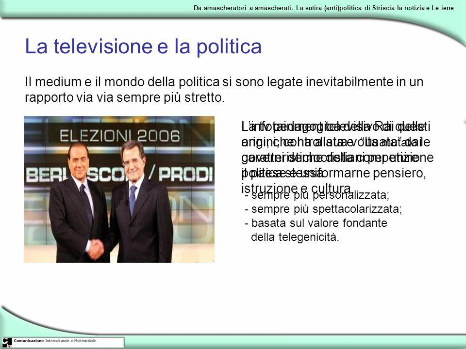 La televisione e la politica