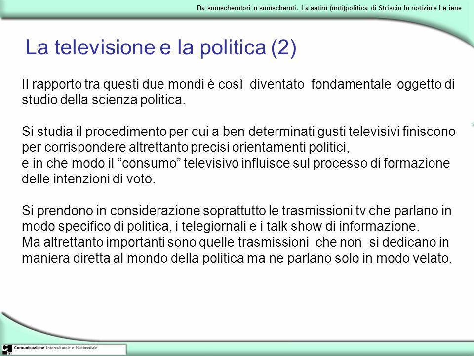 La televisione e la politica (2)