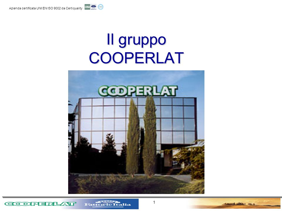 Il gruppo COOPERLAT