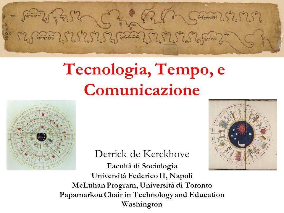 Tecnologia, Tempo, e Comunicazione