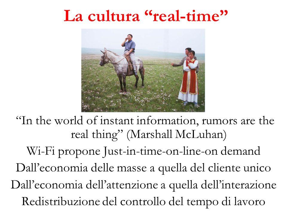 La cultura real-time